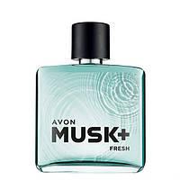 Туалетная вода мужская Avon Musk Fresh 50 мл