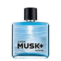 Туалетная вода мужская Avon Musk Marine 75 мл