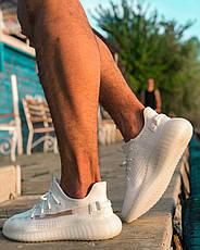 Мужские белые кроссовки  ADIDAS YEEZY BOOST 350, фото 2