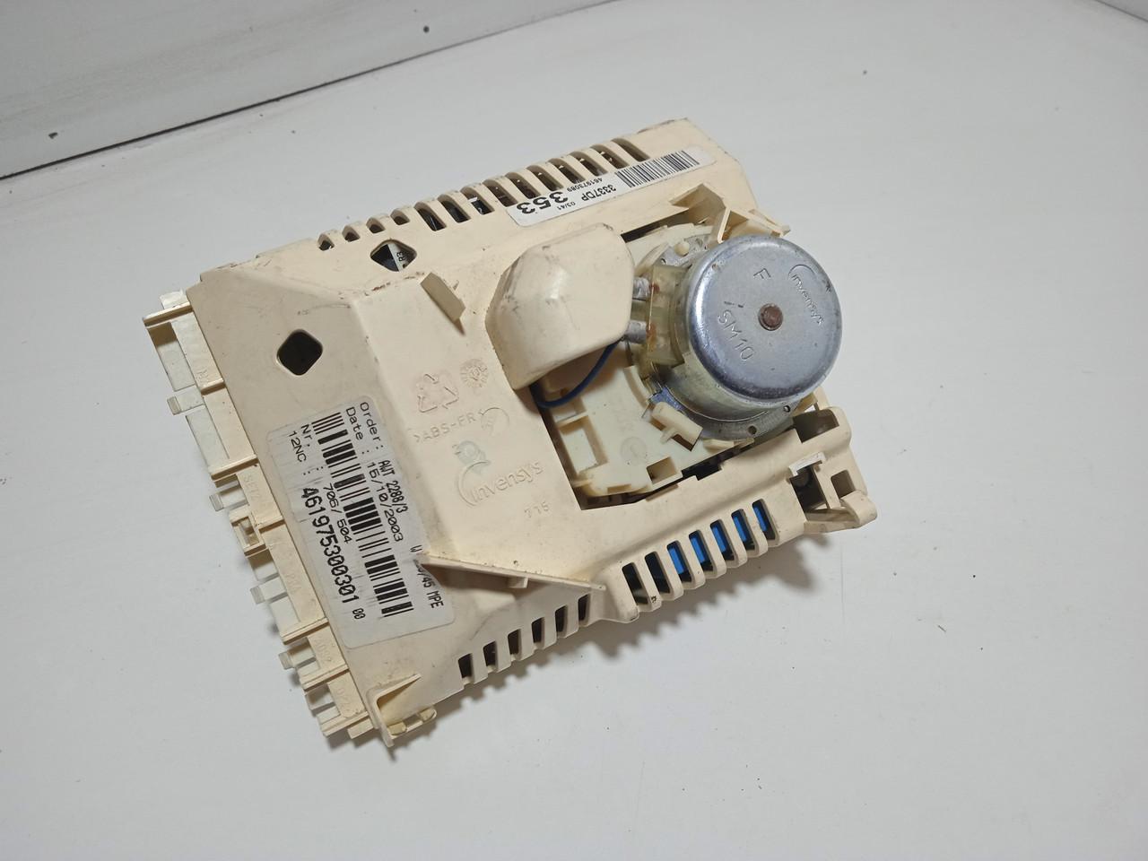 Модуль управления  Whirlpool AWT2288/3. 491975300301  Б/У