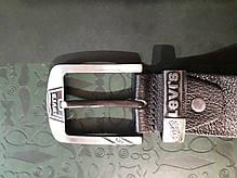 Ремень мужской кожаный стильный ширина 4 см под джинсы Р-24, фото 2