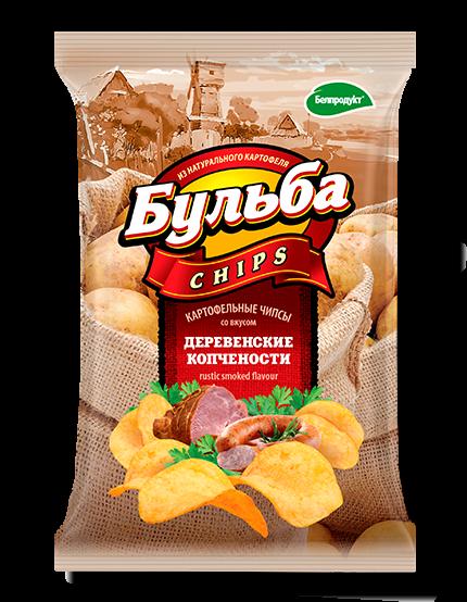 """Чіпси з натуральної картоплі """"Белпродукт"""" 75,г"""