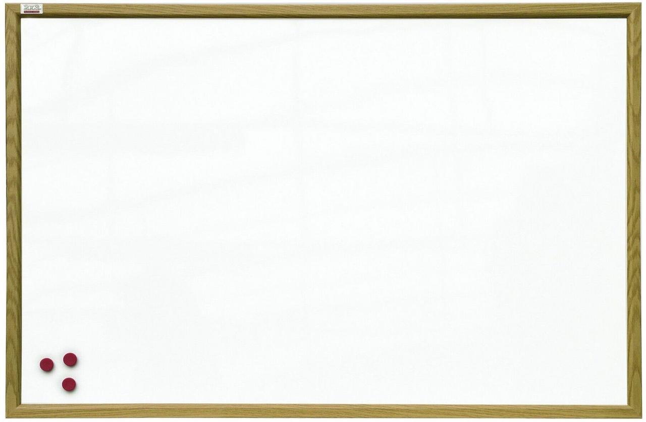 Магнитно-маркерная доска в деревянной MDF рамке 2х3. Все размеры. Белая доска для рисования маркером