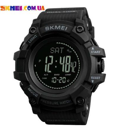 Спортивні годинник Skmei 1358 | Барометр, Компас (Black)