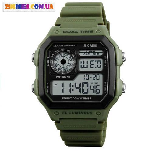 Спортивний годинник Skmei 1299 (army green)