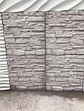 Форма для полифасадных панелей АЛЯСКА 500*500*30 мм; формы из АБС пластика для полифасада, фото 4