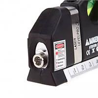 Лазерный уровень Laser Level Pro 3 со встроенной рулеткой, фото 1