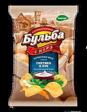"""Чипсы из натурального картофеля """"Белпродукт"""" 75,г"""