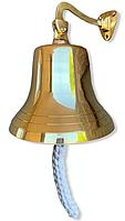 Колокол судовой бронзовый d=23 см, фото 1