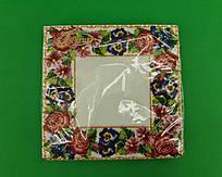 Серветка декор (ЗЗхЗЗ, 20шт) La Fleur Квітковий орнамент (1 пач.)