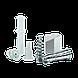 Электро мясорубка Liberton LMG-28STS с соковыжималкой, фото 2