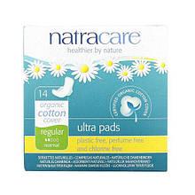 Гигиенические прокладки  Natracare Ultra Pads  из органического хлопка стандартные 14 шт