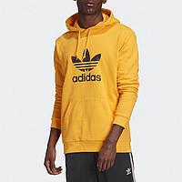 Худи Adidas Originals Trefoil Hoodie GD9923 Оригинальный Мужской Худи Адидас Желтый