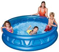 Детский надувной круглый бассейн Intex 188х46см конус для детей 58431