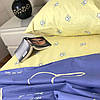 """""""Коты"""" семейное постельное белье комбинированное, простынь 220/240, два под-ка 150/220, 100% хлопок, фото 2"""