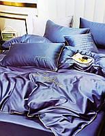 Двуспальное сатиновое постельное белье HOME TEXTILE