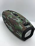 Портативная колонка Hopestar H41, стерео колонка Bluetooth c пыле-влагозащитой, беспроводная Камуфляж, фото 4