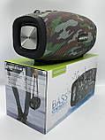 Портативная колонка Hopestar H41, стерео колонка Bluetooth c пыле-влагозащитой, беспроводная Камуфляж, фото 6