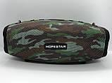 Портативная колонка Hopestar H41, стерео колонка Bluetooth c пыле-влагозащитой, беспроводная Камуфляж, фото 5