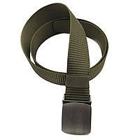 Текстильний ремінь зелений Арт.А9-40-4-9 Lers (Україна)