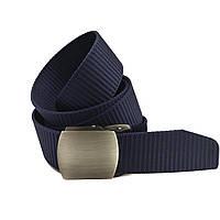 Ремінь унісекс текстильний синій Арт.А9-40-4-4 Lers (Україна)