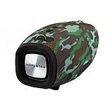 Портативная колонка Hopestar H41, стерео колонка Bluetooth c пыле-влагозащитой, беспроводная Камуфляж, фото 10