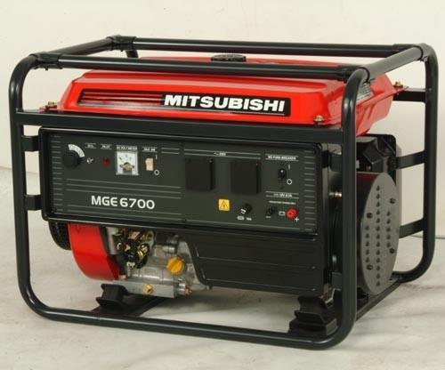 Бензогенератор MITSUBISHI MGE 6700E 5,1 (5,7) кВт