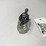 Лабрадор мистик топа18,5 р кольцо с натуральным лабрадором в серебре кольцо с лабрадором кольцо лабрадор Индия, фото 7
