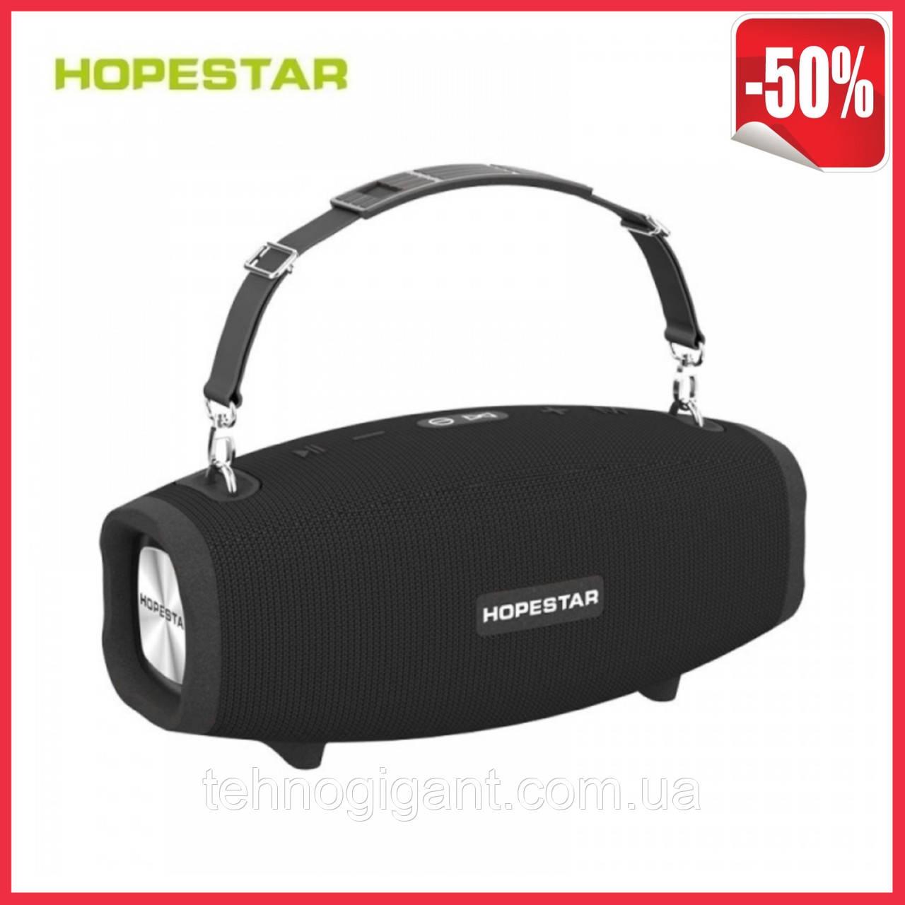 Портативная колонка Hopestar H41, стерео колонка Bluetooth c пыле-влагозащитой, беспроводная Черный