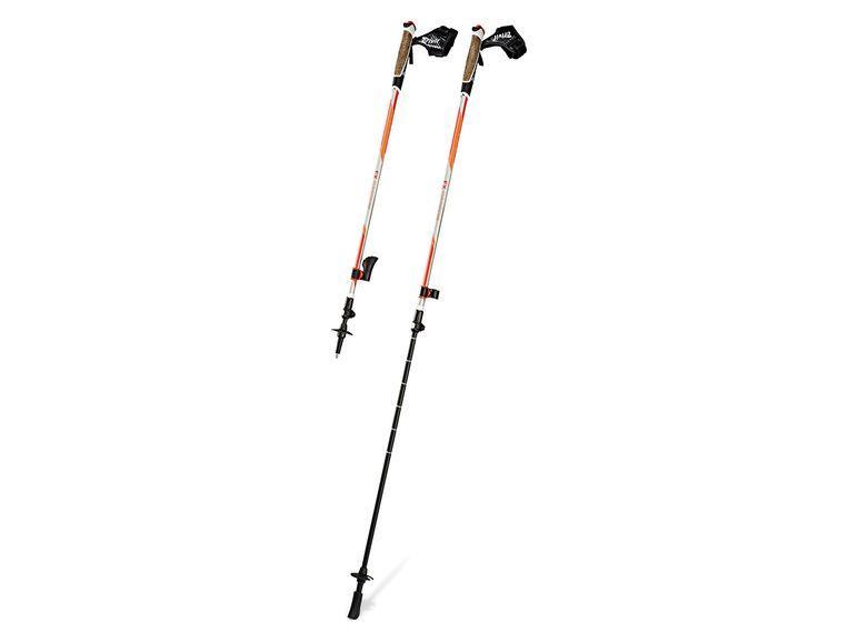 УЦІНКА ! Трекінгові палиці CRIVIT® FX-Carbon Orange для нордичної ходьби Німеччина