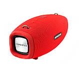 Портативная колонка Hopestar H41, стерео колонка Bluetooth c пыле-влагозащитой, беспроводная Красный, фото 6