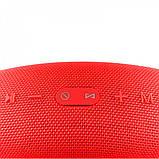 Портативная колонка Hopestar H41, стерео колонка Bluetooth c пыле-влагозащитой, беспроводная Красный, фото 4