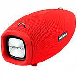 Портативная колонка Hopestar H41, стерео колонка Bluetooth c пыле-влагозащитой, беспроводная Красный, фото 3