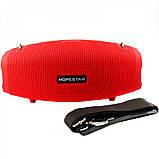 Портативная колонка Hopestar H41, стерео колонка Bluetooth c пыле-влагозащитой, беспроводная Красный, фото 2