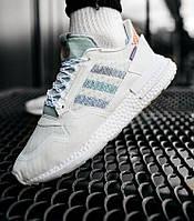 Мужские кроссовки Adidas ZX 500 RM Commonwealth летние весна-осень в сеточку белые. Фото в живую. Адидас зх500