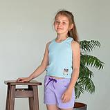 Майка топ для девочки, Sound, салатовый, SmileTime, фото 2