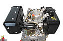 Дизельный двигатель - Шлиц.Grunwelt186 FB-W  для1100 (вал ШЛИЦЫ), 418cc/диз 9,5л.с. Ручной стартер, фото 8