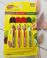 Набор из 4-х бальзамов Carmex Lip Balm