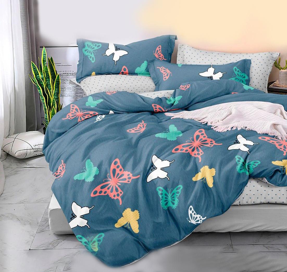 """Комплект постельного белья """"Бабочки в саду"""" Сатин"""