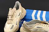 Жіночі кросівки Adidas Ozweego Celox в стилі Адідас Озвиго Бежеві (Репліка ААА+), фото 7