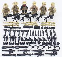 Фигурки swat спецназ военные солдаты BrickArms бандиты Pugb аналог Лего lego