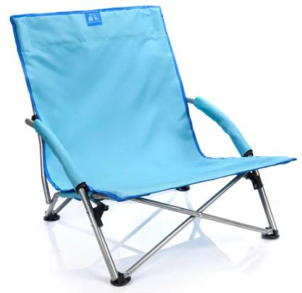 Раскладное кресло шезлонг Meteor Coast (31583) Голубой
