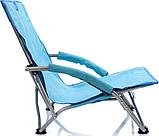 Раскладное кресло шезлонг Meteor Coast (31583) Голубой, фото 2