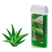Віск для депіляції картридж касета ItalWax Aloe 100 г - алое