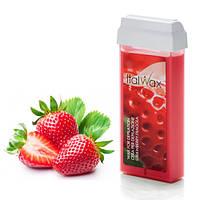 Віск для депіляції картридж касета ItalWax Strawberry - 100 г Полуниця
