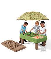 Столик для игры с водой и песком Увлекательное путешествие
