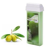 Віск для депіляції картридж касета ItalWax Olive - Олива 100 г