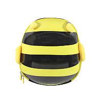 Детский рюкзак с твердым корпусом Cute Animals Lesko 2291 Пчёлка (6835-23420)