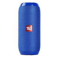 Bluetooth-колонка TG-117 портативна вологостійка. Колір синій