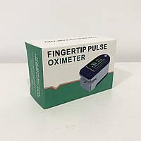 Пульсоксиметр Fingertip pulse oximeter. Колір синій